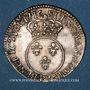 Münzen Louis XV (1715-1774). 1/10 écu vertugadin 1716P. Dijon. Réformation !