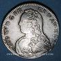 Münzen Louis XV (1715-1774). 1/2 écu aux lauriers 1728. Besançon. Atelier rare !