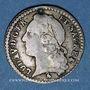 Münzen Louis XV (1715-1774). 1/20 écu au bandeau 1759A