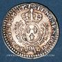 Münzen Louis XV (1715-1774). 1/20 écu daux lauriers 1727BB. Strasbourg