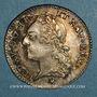 Münzen Louis XV (1715-1774). 1/5 écu à la vieille tête 1774 BB. Strasbourg