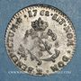 Münzen Louis XV (1715-1774). Double sol en billon 1762BB. Strasbourg