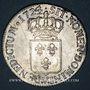 Münzen Louis XV (1715-1774). Ecu de France 1724V. Troyes. Flan neuf !