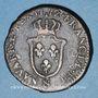 Münzen Louis XV (1715-1774). Sol d'Aix 1772&. Aix