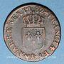 Münzen Louis XVI (1774-1793). 1/2 sol 1782&. Aix. Différent sous le buste : arc