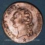 Münzen Louis XVI (1774-1793). 1/2 sol 1788MA. Marseille