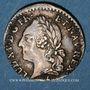 Münzen Louis XVI (1774-1793). 6 sols à la vieille tête de Louis XV 1779A. 2e semestre