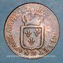 Münzen Louis XVI (1774-1793). Sol 1785BB. Strasbourg. Grand BB