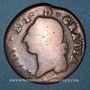 Münzen Louis XVI (1774-1793). Sol de Béarn 1779. Pau