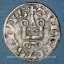 Münzen Philippe IV le Bel (1285-1314). Denier tournois à l'O rond