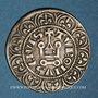 Münzen Philippe IV le Bel (1285-1314). Maille tierce à l'O rond. Variante inédite !