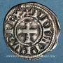 Münzen Philippe IV le Bel (1285-1314). Obole tournois à l'O long