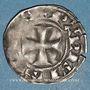 Münzen Philippe VI (1328-1350). Denier parisis, 3e type, 2e émission (13 août 1348)