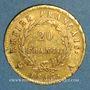 Münzen 1er empire (1804-1814). 20 francs tête laurée EMPIRE 1813A. (PTL 900 /1000. 6,45 gr)