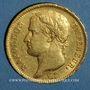 Münzen 1er empire (1804-1814). 40 francs tête laurée EMPIRE, 1812 A. (PTL 900‰. 12,90 g)