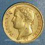 Münzen 1er empire (1804-1814). 40 francs tête laurée EMPIRE 1812A. (PTL 900 /1000. 12,90 g)