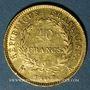 Münzen 1er empire (1804-1814). 40 francs tête laurée, REPUBLIQUE, 1807A. 900 /1000. 12,90 gr