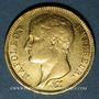 Münzen 1er empire (1804-1814). 40 francs tête laurée, REPUBLIQUE, 1807W. Lille. 900 /1000. 12,90 gr