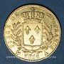 Münzen 1ère restauration (1814-1815). 20 francs buste habillé 1814A. 900 /1000. 6,45 gr. Type avec 4 long