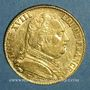 Münzen 1ère restauration. 20 francs buste habillé 1814A. (PTL 900‰. 6,45 g). Type avec 4 long