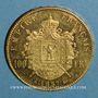 Münzen 2e empire (1852-1870). 100 francs Napoléon III tête nue 1857A. (PTL 900 /1000. 32,25 g)