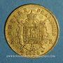 Münzen 2e empire (1852-1870). 20 francs Napoléon III tête laurée 1864 BB. Strasbourg. (PTL 900‰. 6,45 g)
