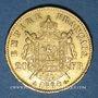 Münzen 2e empire (1852-1870). 20 francs, Napoléon III, tête laurée 1864A. 900 /1000. 6,45 gr