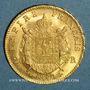 Münzen 2e empire (1852-1870). 20 francs Napoléon III tête laurée 1866BB. Strasbourg. (PTL 900‰. 6,45 g)