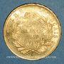 Münzen 2e empire (1852-1870). 20 francs Napoléon III tête nue 1857A. (PTL 900 /1000. 6,45 g)