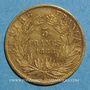 Münzen 2e empire (1852-1870). 5 francs Napoléon III tête laurée 1866A. (PTL 900 ‰. 1,612 g)