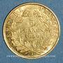 Münzen 2e empire (1852-1870). 5 francs tête nue 1859A. (PTL 900‰. 1,612 g)