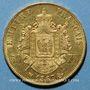 Münzen 2e empire (1852-1870). 50 francs, Napoléon III, tête laurée 1867BB. Strasbourg. 900 /1000. 16,12 gr