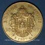 Münzen 2e empire (1852-1870). 50 francs, Napoléon III, tête nue 1857A. 900 /1000. 16,12 gr