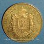 Münzen 2e empire (1852-1870). 50 francs Napoléon III tête nue 1857A. (PTL 900 /1000. 16,12 g)
