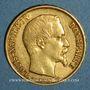 Münzen 2e république (1848-1852). 20 francs Louis Bonaparte 1852A. (PTL 900‰. 6,45 g)
