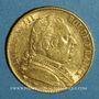 Münzen 2e restauration. Louis XVIII (1815-1824). 20 francs buste habillé 1815A. (PTL 900 /1000. 6,45 g)