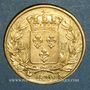 Münzen 2e restauration. Louis XVIII (1815-1824). 20 francs buste nu 1820A. (PTL 900 /1000. 6,45 g)