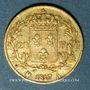 Münzen 2e restauration. Louis XVIII (1815-1824). 20 francs tête nue 1817A. 900 /1000. 6,45 gr