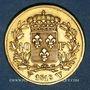 Münzen 2e restauration. Louis XVIII (1815-1824). 40 francs buste nu 1818W. Lille. 900 /1000. 12,90 gr