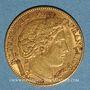 Münzen 3e république (1870-1940). 10 francs Cérès 1899A. (PTL 3,22g 900/1000)