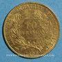 Münzen 3e république (1870-1940). 10 francs Cérès 1899A. (PTL 900 ‰ 3,22 g)