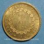 Münzen 3e republique (1870-1940). 20 francs 1875A (900 /1000. 6,45 g)