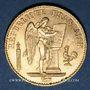 Münzen 3e république (1870-1940). 20 francs Génie 1895A. 900 /1000. 6,45 gr