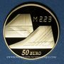 Münzen 5e république (1959 -). 50 euro 2009 40e anniversaire du 1er vol du Concorde. 920 /1000. 8,45 g