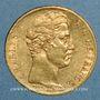Münzen Charles X (1824-1830). 20 francs 1825A. 900 /1000. 6,45 gr