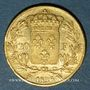 Münzen Charles X (1824-1830). 20 francs 1826W. Lille. 900 /1000. 6,45 gr