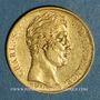 Münzen Charles X (1824-1830). 20 francs 1827A. 900 /1000. 6,45 gr