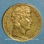 Münzen Charles X (1824-1830). 20 francs 1827A. (PTL 900‰. 6,45 g)