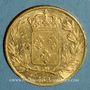 Münzen Charles X (1824-1830). 20 francs 1827A. (PTL 900 /1000. 6,45 g)