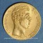 Münzen Charles X (1824-1830). 20 francs 1828 A. (PTL 900‰. 6,45 g)